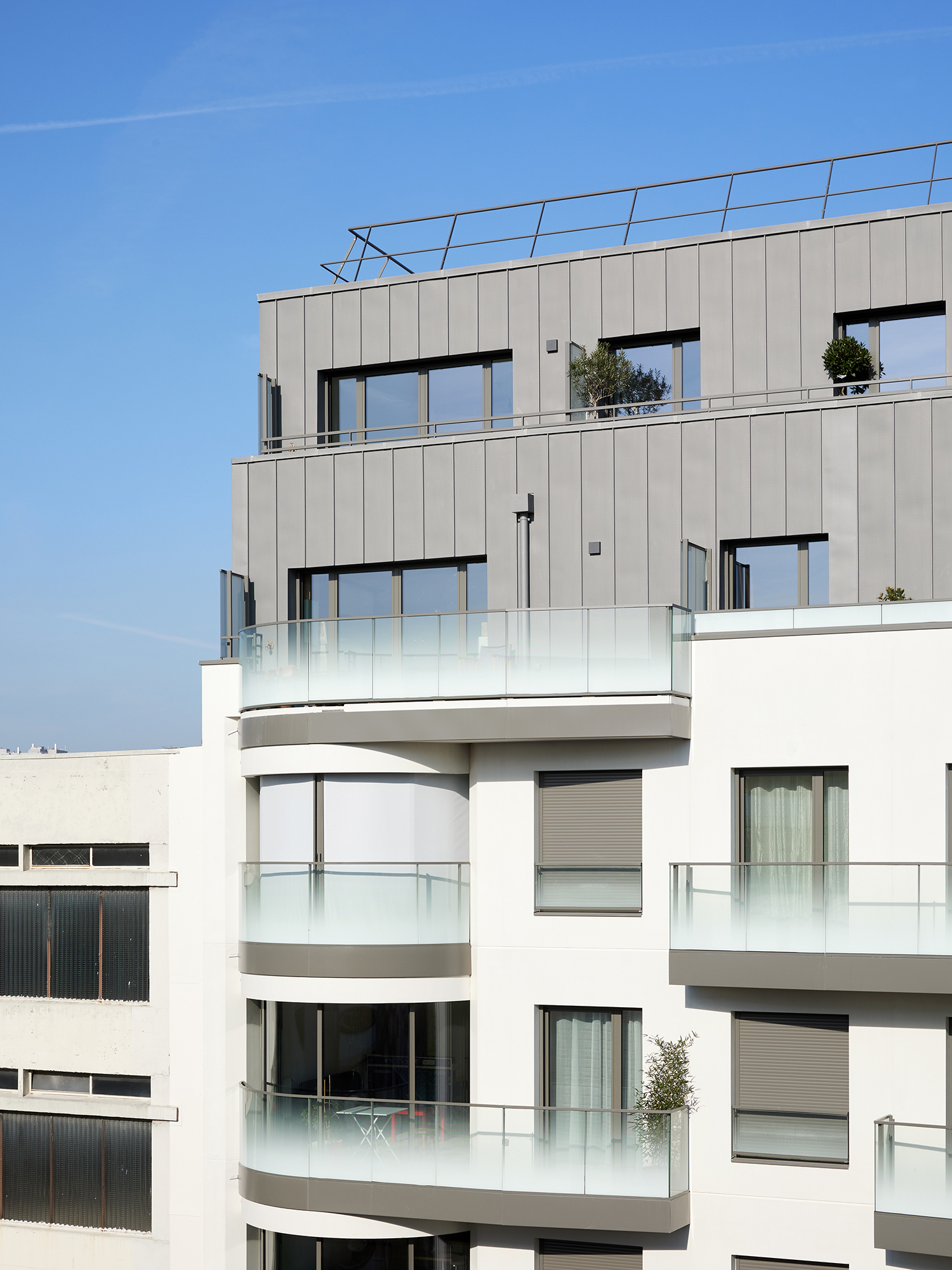 ORY architecture logements Parmentier