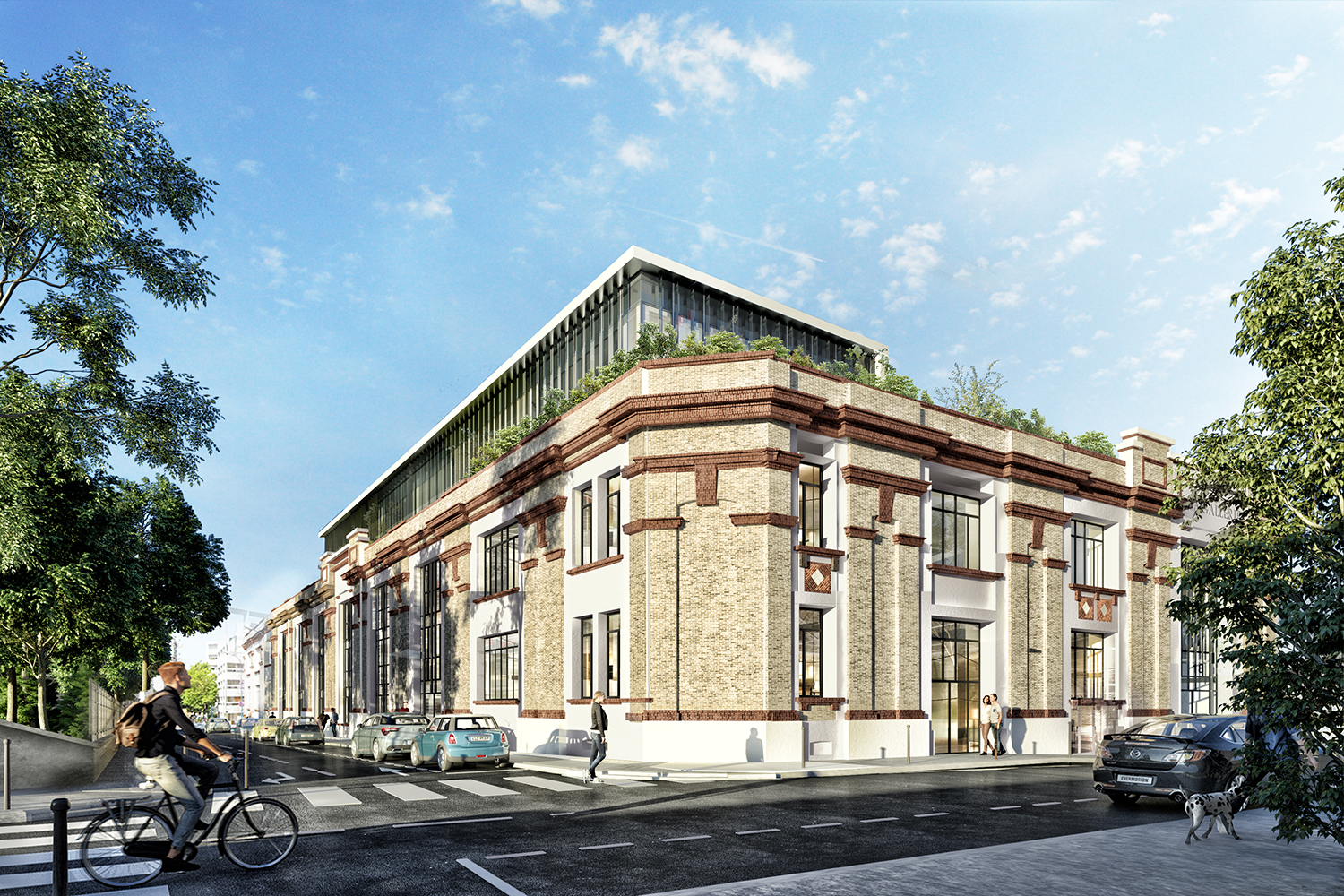 ORY architecture la Galerie Pantin Heir Invest